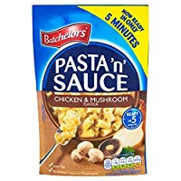 (Batchelors) パスタ「N」の醤油チキン&キノコの風味100グラム (x6) - Batchelors Pasta 'n' Sauce Chicken & Mushroom Flavour 100g (Pack of 6) [並行輸入品]