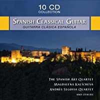 Spanish Classical Guitar by Siegfried Behrend (2014-07-08)