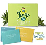 🎉 THE BEST GIFT 🎉 Open When Letters For Your Special Person, The Perfect Gift to Celebrate 24 Envelopes With Amazing Topics 24 Blank Notes To Express All Your Feelings. It's Time To Celebrate