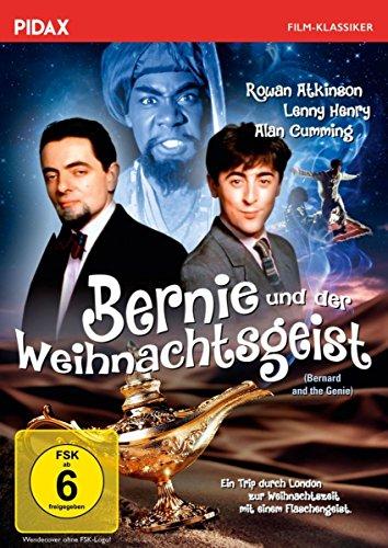 Bernie und der Weihnachtsgeist (Bernard and the Genie) / Komödie mit MR. BEAN - Star Rowan Atkinson und Alan Cumming (Pidax Fil