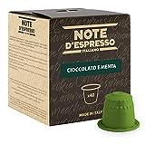 Note D'Espresso - Cioccolato e Menta - Capsule Compatibili Soltanto con Nespresso* - Confezione da 40