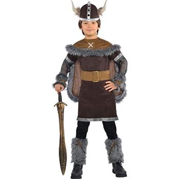 Amscan International Disfraz de guerrero vikingo para niños y ...