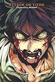 Attack on titan 1 Notebook: manga anime Attaque des Titans vol. 1 lined paper Attack on titan 1 to 3...