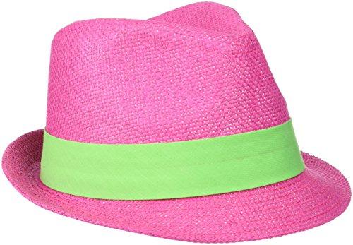 Myrtle Beach Myrtle Beach Hut Street Style, Fuchsia/Lime-Green, L/XL, MB6564 fulg