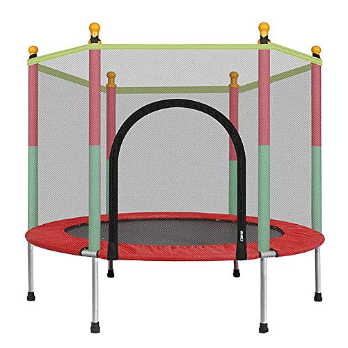 HGFDSA Trampoline,Workout Fitness Equipment,Exercise Trampoline for Indoor/Garden/Workout Cardio,Quiet and Safely Cushioned Bounce,Suitable for Children/Adults,Capacity for 2-3 Kids,Can Bear 200kg