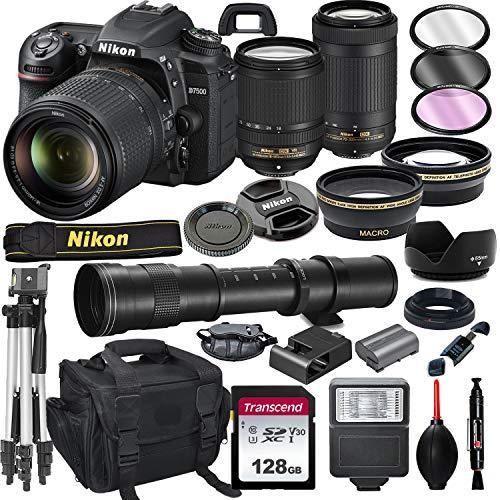 Nikon D7500 DSLR Camera with 18-140…