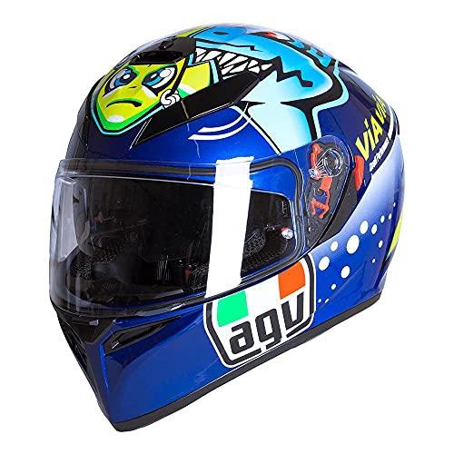 AGV K3 SV-S Rossi Misano 2015 Casco da Moto Integrale Taglia ML