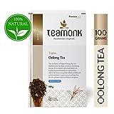 Tapas Teamonk té oolong (50 tazas) | té premium oolong | té para adelgazar | té adelgazante | hojas sueltas | sin aditivos - 100g