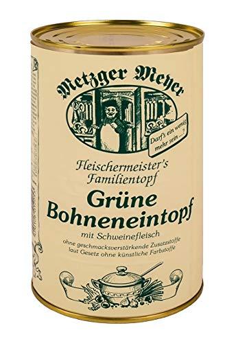 Grüne Bohneneintopf, der Familien-Bohnensuppeneintopf im 6er Pack./ eine Büchse mit 1200ml Inhalt