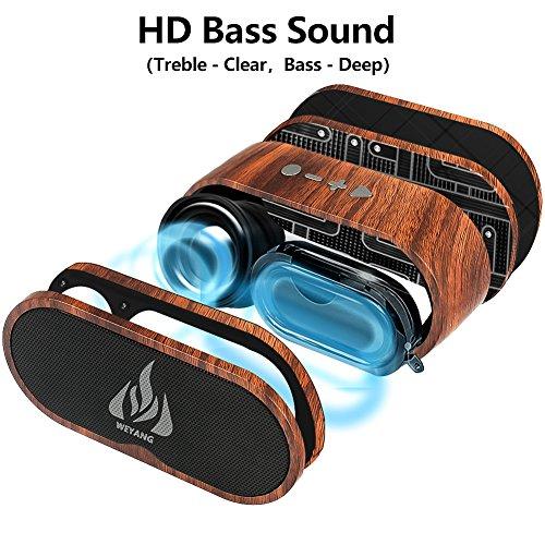 Haut-parleurs extérieurs sans fil Bluetooth WEYANG - 3