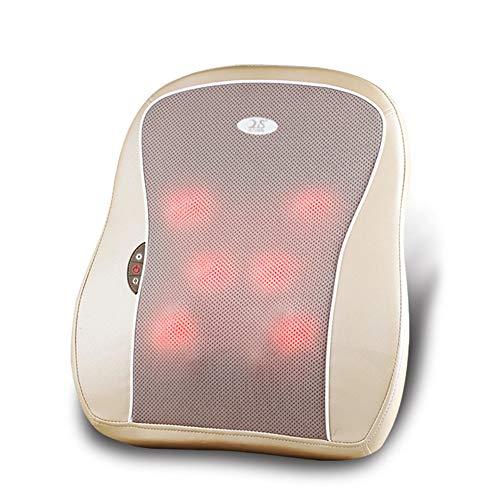 JIANG Nackenmassagegerät, 3D-Rückenmassagegerät, Nackenmassagegerät Dome-Massagekissen für Stressabbau und ultimative Entspannung; Massage des unteren Rückens und der Schulter
