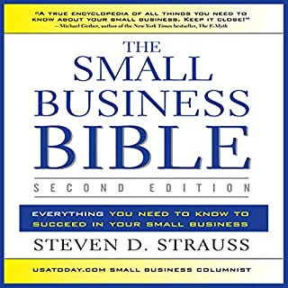 The Small Business Bible, Second Edition cover art