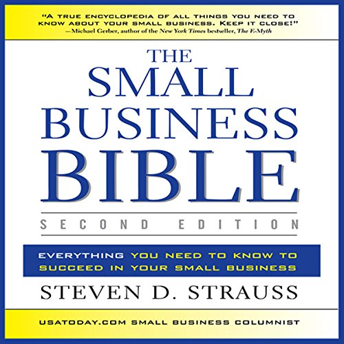 The Small Business Bible, Second Edition audiobook cover art