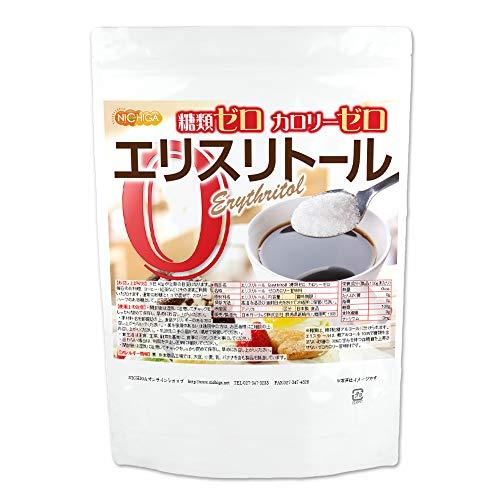エリスリトール(erythritol) 950g糖類ゼロ カロリーゼロ [希少糖 天然甘味料 糖質制限 砂糖代替甘味料] NICHIGA(ニチガ) [02]