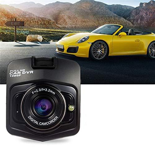 WJY Dash CAM Full HD 1080P Gran Angular de 120° 2,4' Cámara de Coche Grabadora de Conducción con G-Sensor, Detección de Movimiento, Grabación en Bucle, Visión Nocturna, Monitor de Aparcamiento
