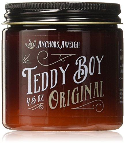 Anchors Hair Company Teddy Boy Original Water Based Styling Pomade, 4.5 oz.