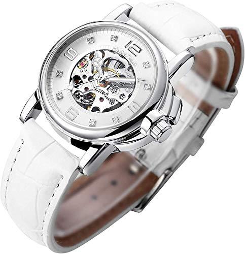 Women's Watch Luxury Mechanical Stainless Steel...