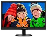 Philips 193V5LHSB2 18.5-inch LCD Monitor (Black)