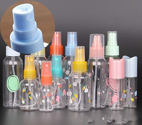 Bouteilles De Pulvérisation Remplis pour Les Désinfectants, Huiles Essentielles, Etc. Plastiques Portables