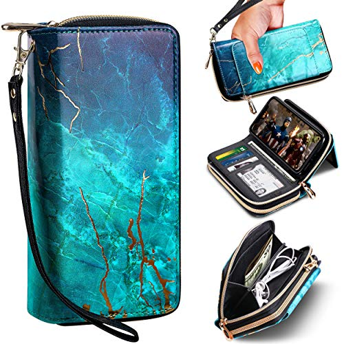 E LV Wallet Purse Case Designed for iPhone 11 PU Leather Case Folio Flip with Credit Card Slots, Detachable Case and Back Stand for iPhone 11
