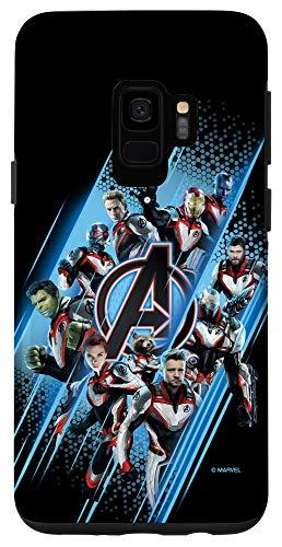 Galaxy S9 Marvel Avengers: Endgame Logo Super Heroes Case