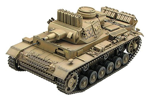 1/35 World War II German Army Panzer III N-type # 501 Heavy Tank Battalion Africa plastic model CH6431