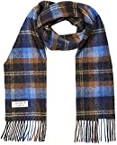 Fashiol Men's/Women Casual Checkered Acrylic Woolen Muffler, Scarf & Stole for Winter, Size 30 * 180 cms Assorted Colours Pack of Two