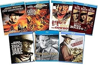 John Wayne Collection: Ultimate 7-Film - The Searchers / The Big Trail / The Comancheros / Rio Bravo / Big Jake / The Searchers / Green Berets