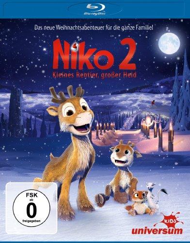 Niko 2 - Kleines Rentier, großer Held [Blu-ray]