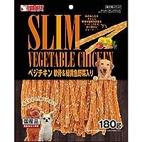 ゴン太 ゴン太のべジチキン 軟骨&緑黄色野菜入 180g 犬用おやつ - -