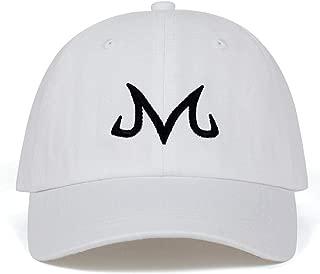 2019 Majin Buu Snapback Cap Cotton Baseball Cap for Unsiex Hip Hop Dad Hat Golf Caps Black One Size