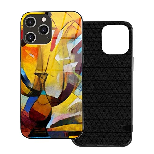 iPhone TPU Glass Phone Case Laptop Christma GiftsInk Angle Alternative Picasso Iphone12 Pro Max