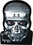 Terminator T-2 T-800 Skull 5x7 Stamped Sign LootCrate June 2016 Exclusive