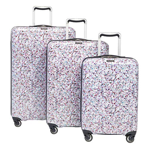 Save %55 Now! Ricardo Beaumont 3-Piece Luggage Set Confetti with FREE Travel Kit