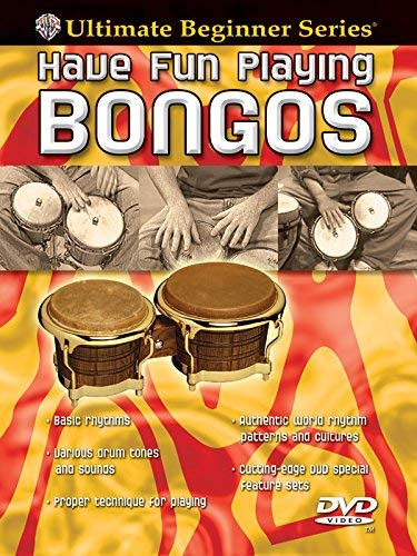 Ultimate Beginner Have Fun Playing Hand Drums: Bongos, Steps One & Two (DVD) [UK Import]