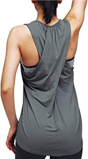 Workout Tops for Women Yoga Tops Athletic Racerback Tank Tops Gym Clothes
