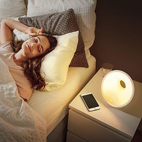 Philips Connected Sleep und Wake-up Light, Einschlafhilfe, Natürlich aufwachen, Umgebungssensor, App Connected, HF3671/01 - 4