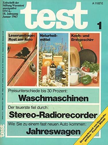 Test Nr. 01/1983 Der teuerste fiel durch: Stereo-Radiorecorder