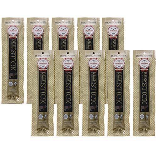 Aufschnitt Beef & Chicken Sticks - Kosher, Glatt, Star-K Certification - Original (10 Pack) (1 oz each)