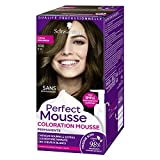 Schwarzkopf - Perfect Mousse - Coloration Cheveux - Mousse Permanente sans Ammoniaque - Châtain 500