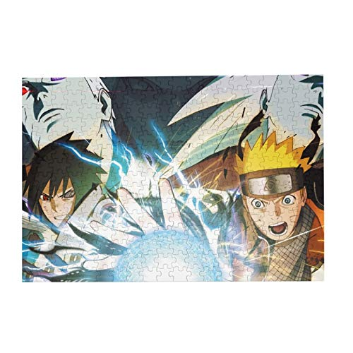 Jigsaw Picture Puzzles Gift For Teens 300pcs Educational Family Game Wall Artwork,Ruto Shippuden Ultimate Ninja Storm 4 Naruto (Anime) Anime Boys Anime