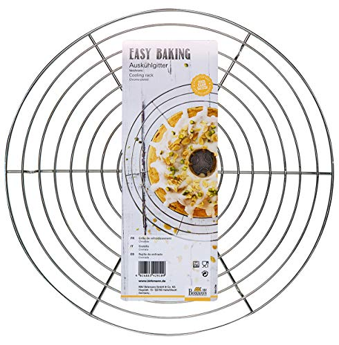 RBV Birkmann, 429109, Easy Baking, Auskühlgitter, rund, Ø 32 cm, Stahl, chrome