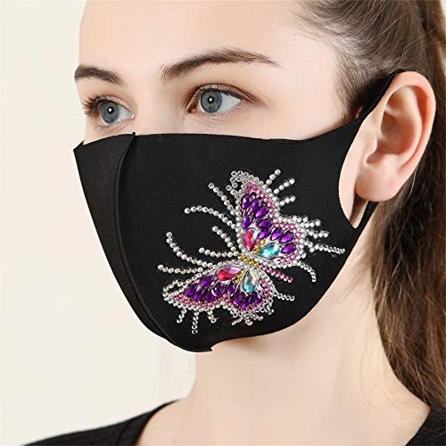 Adult DIY Dot Diamond Face_Mask Valentine's Day Print, Washable_Reusable Men Women Mouth Covering for Coronàvịrụs Protectịon 𝟭𝘅 𝗺𝗮𝘀𝗸, 𝟭 𝘀𝗲𝘁 𝘁𝗼𝗼𝗹𝘀, 𝟭 𝘀𝗲𝘁 𝗱𝗶𝗮𝗺𝗼𝗻𝗱𝘀