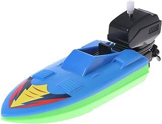 Hacloser Baby Toy Kid Wind Up Clockwork Boat Ship Toys Bath Toy Play Water Bathroom