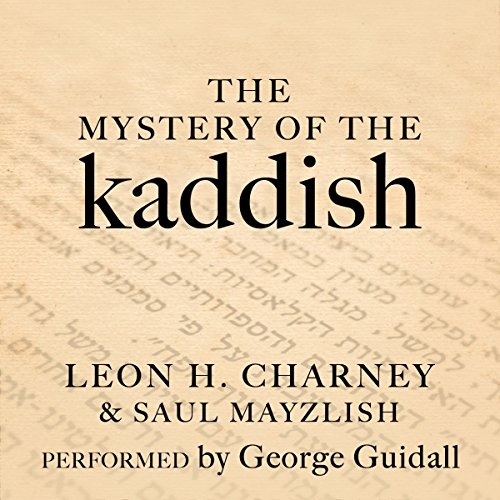The Mystery of the Kaddish cover art