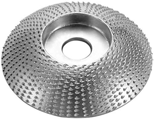 Jianch Madera Carburo de Wolframio Muela Lijadora Tallar Herramienta Abrasivo Disco para Amoladora Angular - 3.3 Inch