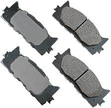 Akebono ACT1222 Proact Ultra Premium Ceramic Disc Brake Pad kit