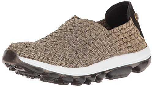 Bernie Mev Women's Gummies Gem Flat, Bronze, 38 EU/7.5 M US