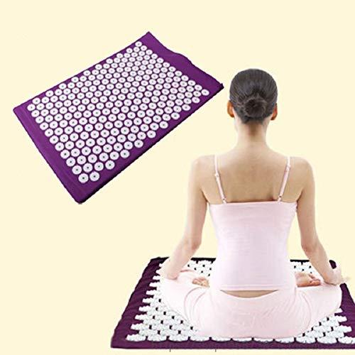 QINYUP Yoga-Matten-Massagekissen Massage Pad Matratze Kissen