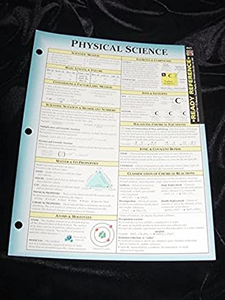 Physical Science Ready Reference